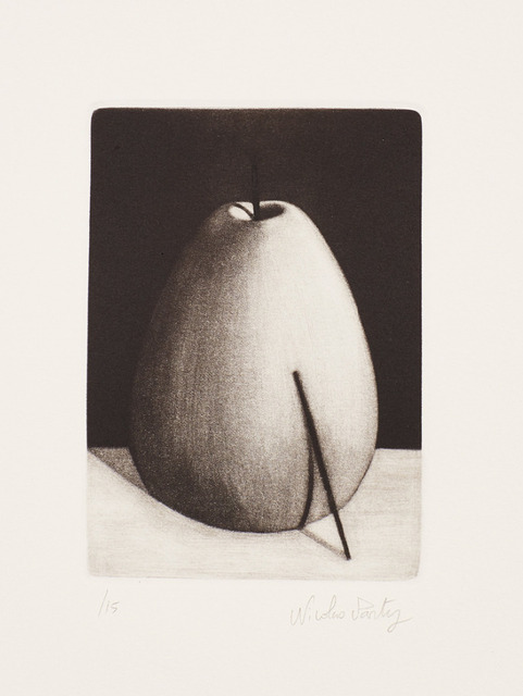 Nicolas Party, 'Fruit With Stick', 2016, Print, Mezzotint on wove paper, Lougher Contemporary