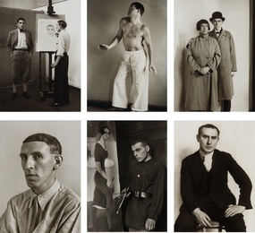 August Sander, 'Selected images from Portraits of Artists,' 1924-1930, Phillips: Photographs (April 2017)