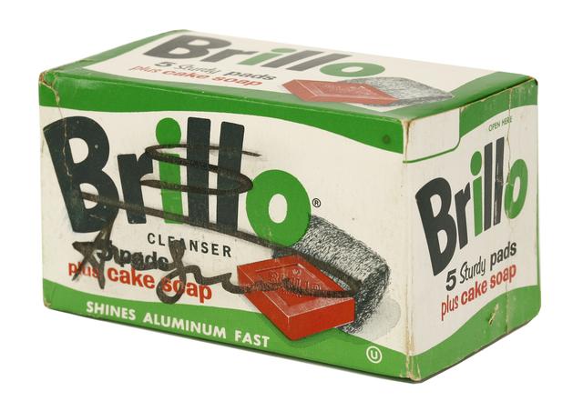Andy Warhol, 'Brillo Box - 5 Sturdy Pads Plus Cake Soap', Sworders