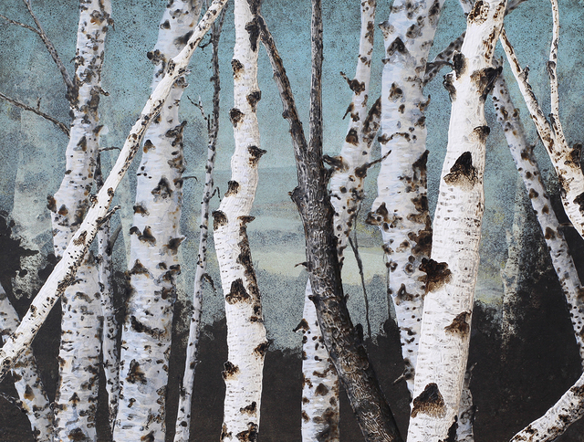 , 'Birch Grove on the Hudson #201,' 2010, Carrie Haddad Gallery