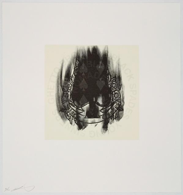 , 'Spade,' 2005, Tamarind Institute