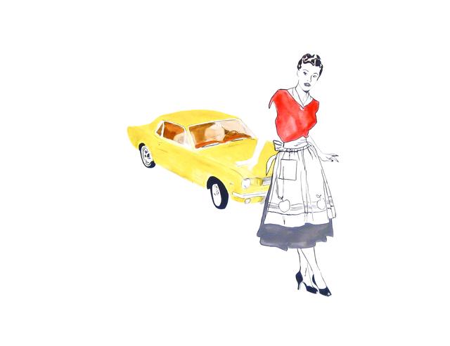 , 'Yellow Mustang,' 2008, Susan Eley Fine Art
