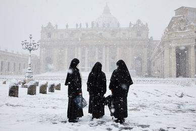 Sisters in Snow