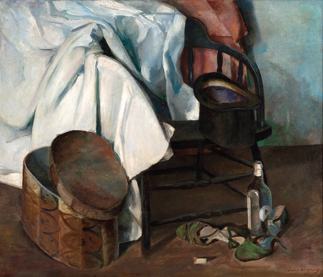 , 'Still Life with Hat Box,' 1937, Dowling Walsh