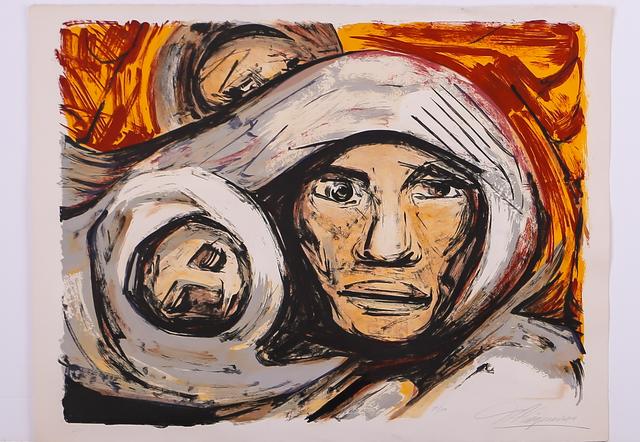 David Alfaro Siqueiros, 'Untitled, mother and child', ca. 1972, Les Arts