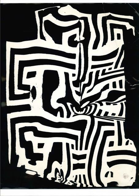 , 'La distorsione grecata,' 1958, Sabrina Raffaghello Contemporary Art