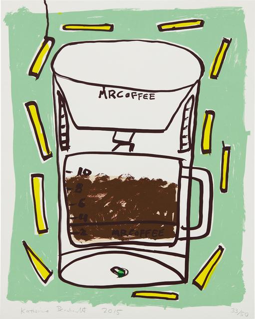 Katherine Bernhardt, 'Mr. Coffee with Fries', 2015, Phillips