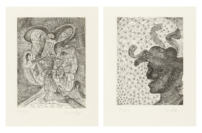 Untitled (two works)