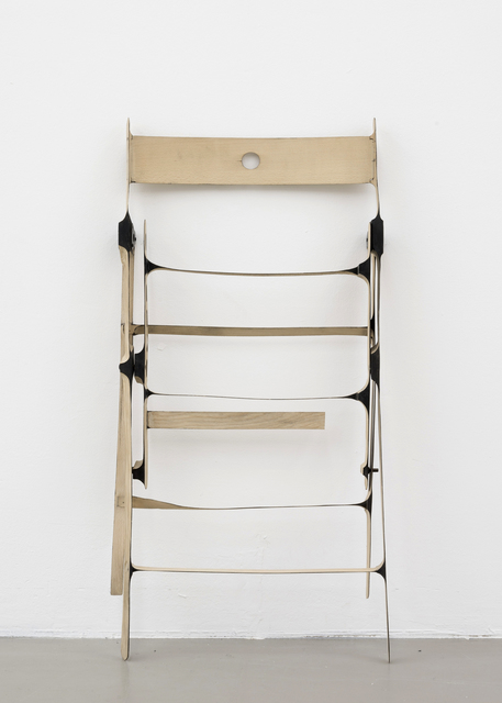, 'Klappstuhl / folding chair,' 2013, Thomas Rehbein Galerie
