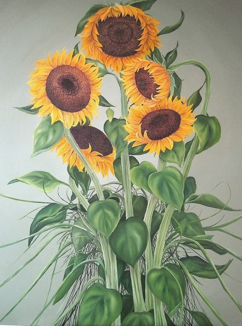 , 'Summer Sunflowers,' 2013, Susan Eley Fine Art