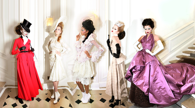 , 'Dior, 5 Girls, Haure Couture Winter 2009,' 2009, Rosenbaum Contemporary