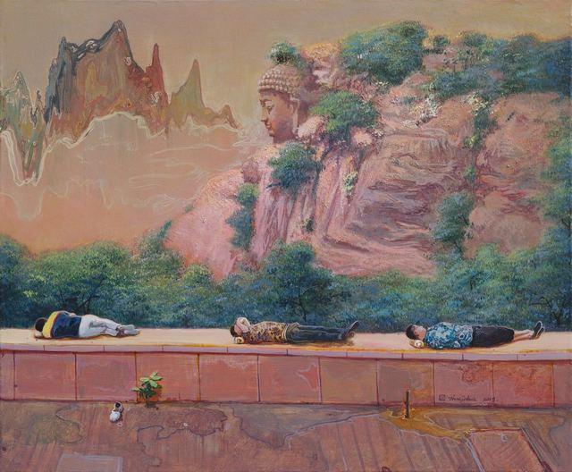 Zhou Jinhua 周金华, 'Dreaming', 2018, Soemo Fine Arts