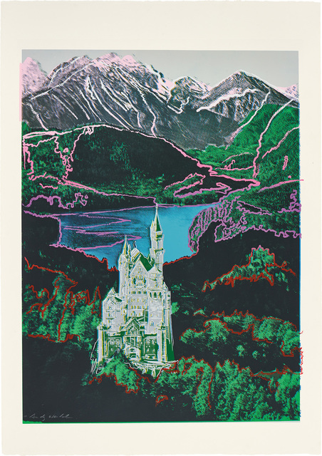 Andy Warhol, 'Neuschwanstein', 1987, Phillips