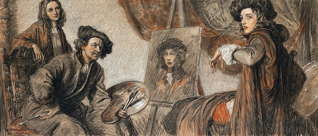 William Smithson Broadhead, 'The Story of Rembrandt', 1928, The Illustrated Gallery