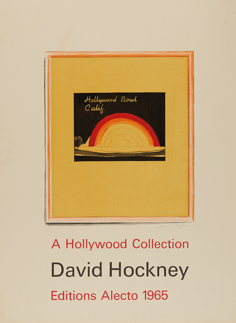 David Hockney, 'Hollywood Bowl Poster', 1966, Phillips
