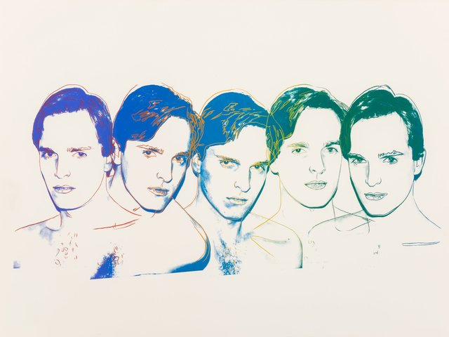 Andy Warhol, 'Miguel Bose', 1983, Print, Screenprint in colors on Saunders Waterford paper, Heritage Auctions