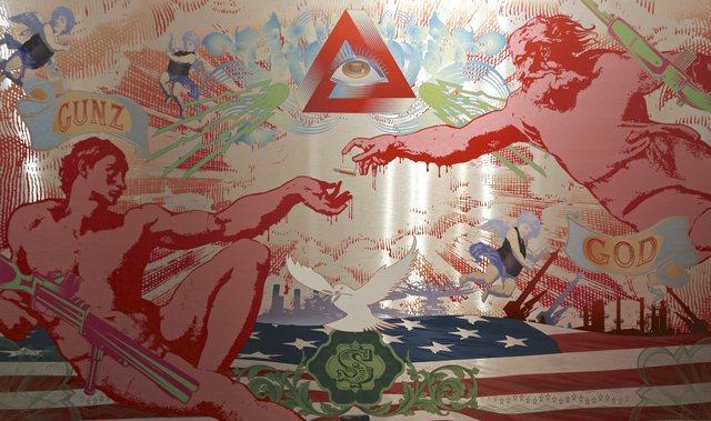 , 'Gunz & God [Special Edition],' 2014, Addicted Art Gallery