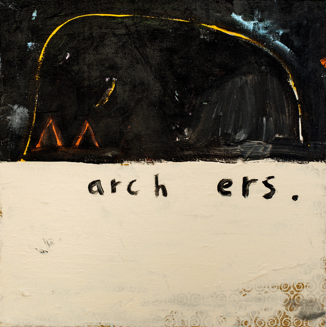 , 'Archers 2,' 2016, The Road Gallery
