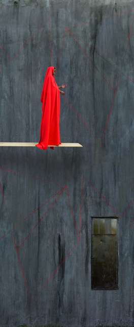 , 'Red Trampoline,' 2016, Mariane Ibrahim Gallery