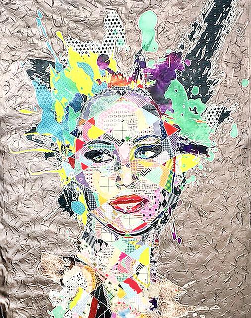 Pınar DU PRE, 'Jennifer', 2016, Painting, Mixed Media, FREMIN GALLERY