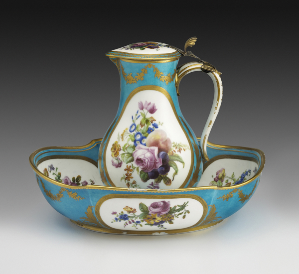 , 'Water Jug and Basin with Flowers and Fruit,' 1776, The Frick Collection