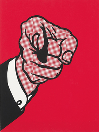 Roy Lichtenstein, 'Finger Pointing, from The New York Collection for Stockholm,' 1973, Phillips: Evening and Day Editions