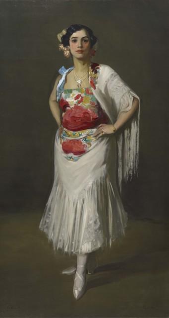 Robert Henri, 'La Reina Mora', 1906, Colby College Museum of Art