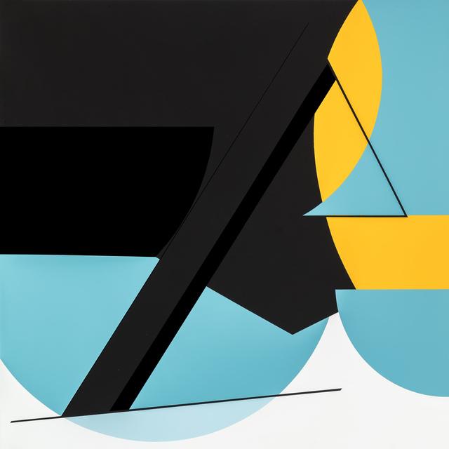 , 'Colour & Form LXVI,' 2018, Stevenson