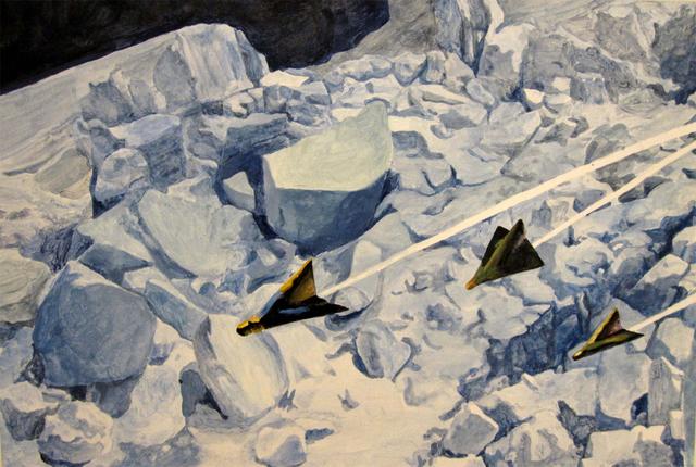 """Kai Schiemenz, 'Ohne Titel No. 2 from """"the suspended emperor of splendor""""', 2005, Galerie Fahnemann"""