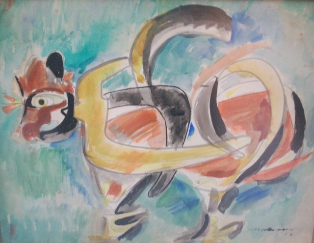 Mariano Rodriguez | Gallo (1956) | Available for Sale | Artsy
