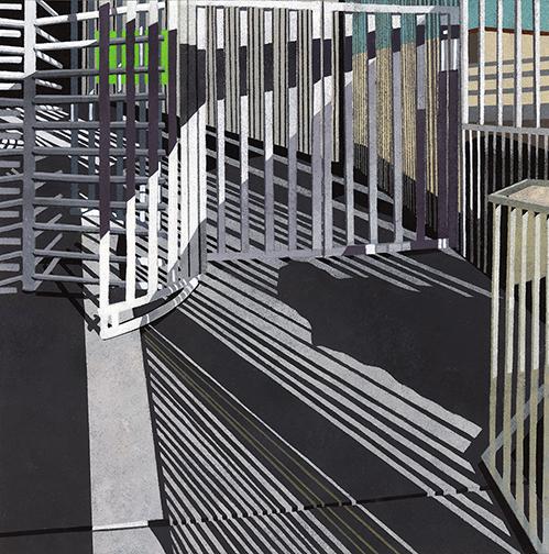 , 'Border Series #13,' 2015, Michael Warren Contemporary