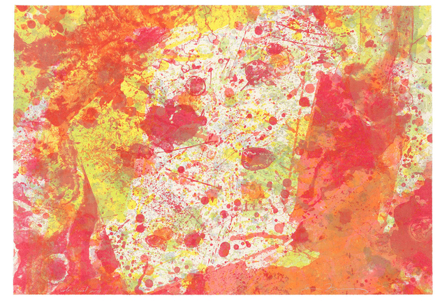 Sam Francis, 'And Pink (SF-143)', 1973, Print, Lithograph, Christopher-Clark Fine Art