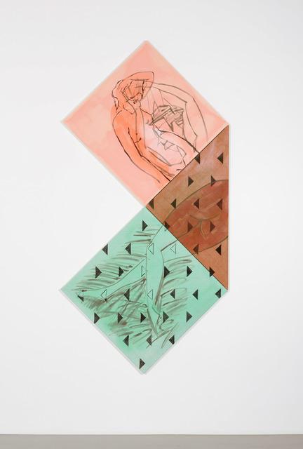 , 'Recto-Verso (Fold),' 2017, Temnikova & Kasela