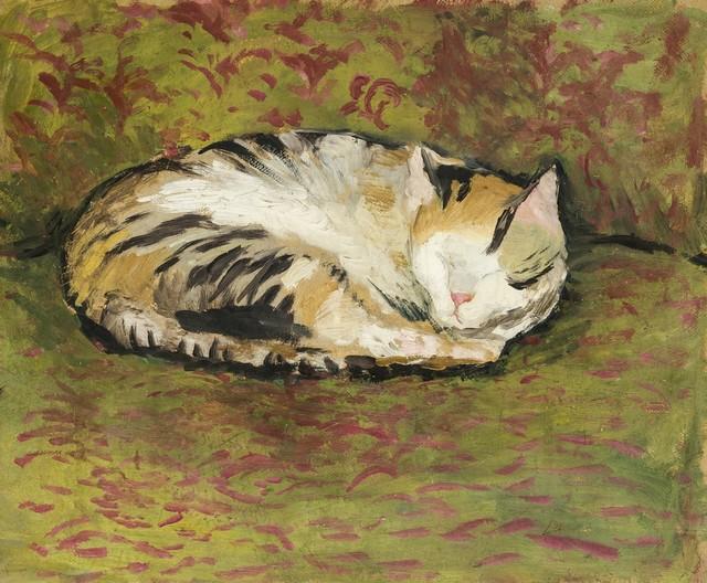 , 'Cat,' 1912, Galerie Thomas