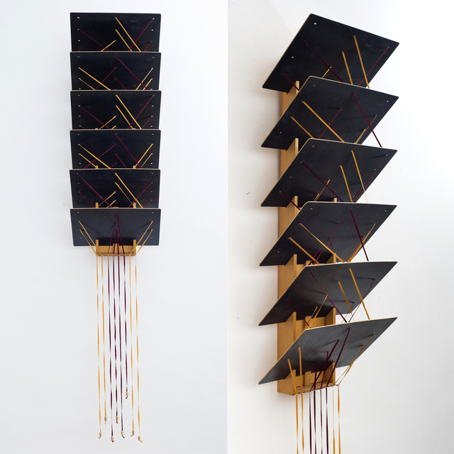 , 'The Story of the Coloful Ribbons. Vol. 46. Waterfall,' 1988, Chimera-Project Gallery