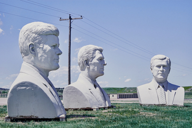 Big Presidents Heads, Hermosa, SD