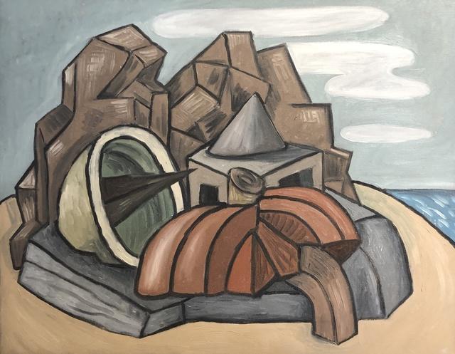David Elliott, 'Beach House', Davis Gallery & Framing