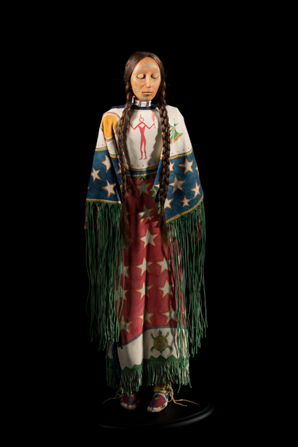 , 'Southern-style or Arapaho-style Ghost Dance doll,' 1998, John Molloy Gallery