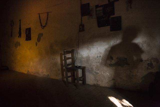 , 'Hombre en llamas. De la serie La casa que sangra-II Raíz rota,' 2015, myl arte contemporáneo