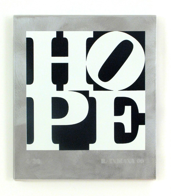 , 'HOPE Black and White,' 2009, Woodward Gallery