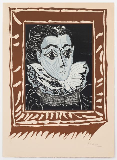 , 'La Dame à la Collerette (Portrait de Jacqueline à la Fraise),' 1962, Alan Cristea Gallery