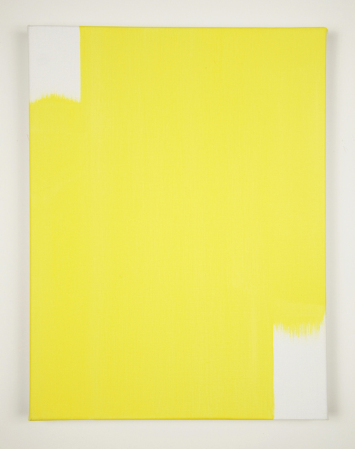 , 'When 2 Directions Become All Directions (Light Yellow),' 2015, Minus Space