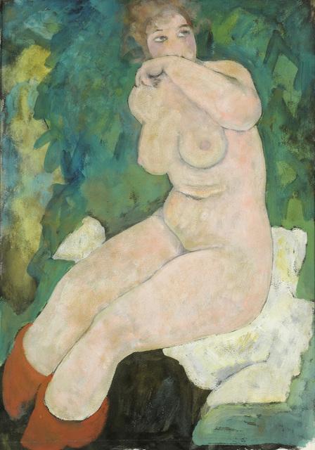 , 'Seated Woman,' 1919, Galerie Bei Der Albertina Zetter