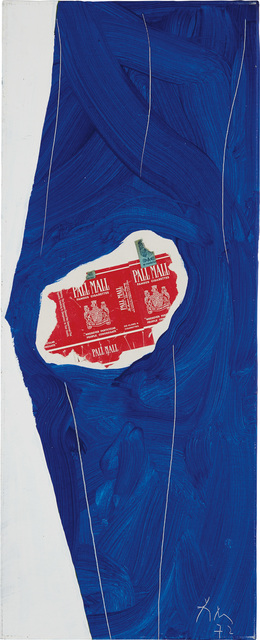 Robert Motherwell, 'Pall Mall on Blue', 1972, Phillips