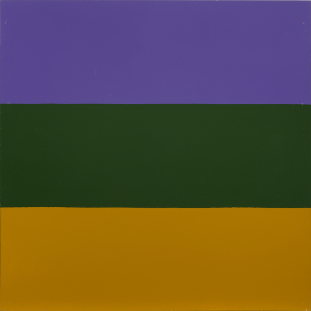 , 'Untitled / Series with ochre as recurring colour,' 1965, Galleri Bo Bjerggaard