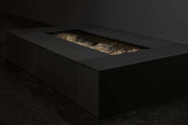 Cristina Iglesias, 'Pozo XII (Desde dentro)', 2016, Sculpture, Bronze, pietra serena, electric material and water, The Feuerle Collection