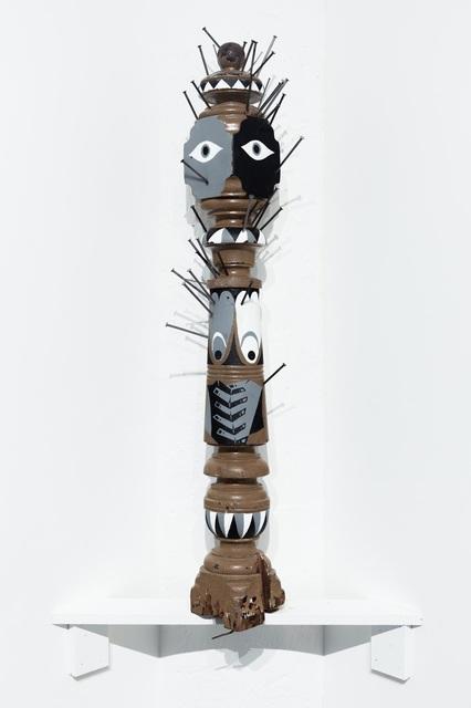 , 'Banister Effigy (Nkondi),' 2017, Ki Smith Gallery