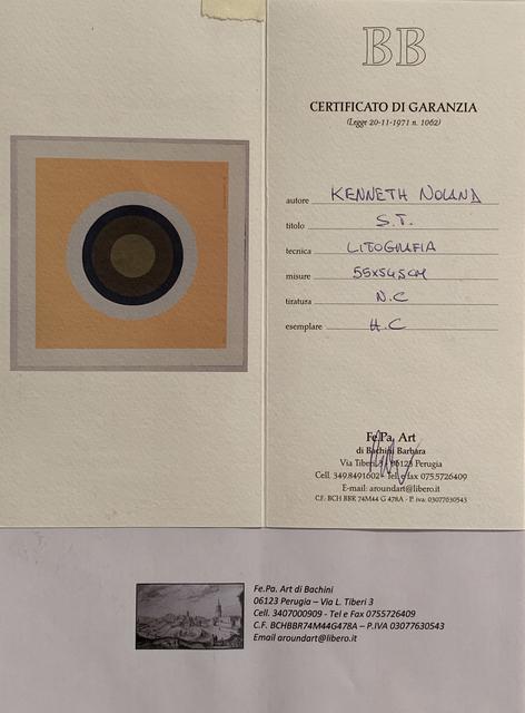 Kenneth Noland, 'Untitled', 1961, iMuseum Vegas