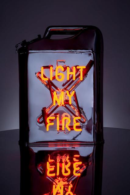 , 'Light My Fire (chrome),' 2018, MAIA Contemporary