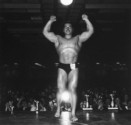 , 'Muscle Man Contestant, N.Y.C.,' 1968, Bruce Silverstein Gallery